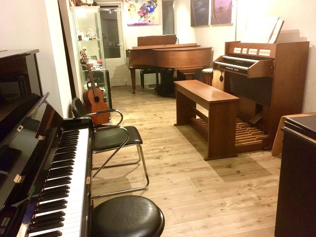Pianoles Enschede Muziekkamer